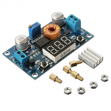 DC-to-DC Step Down XL4015 Module (5A) 75W with Voltmeter