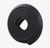 ยางกันชนกันกระแทก สีดำ แบบม้วน ยาว 2 เมตร ใช้ติดขอบตู้ขอบเตียงหรือส่วนที่แหลมช่วยป้องกันเด็ก สำเนา