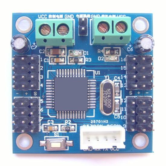 16-Way Servo Motor Controller (คุม Servo Motor ได้ 16 ตัว)