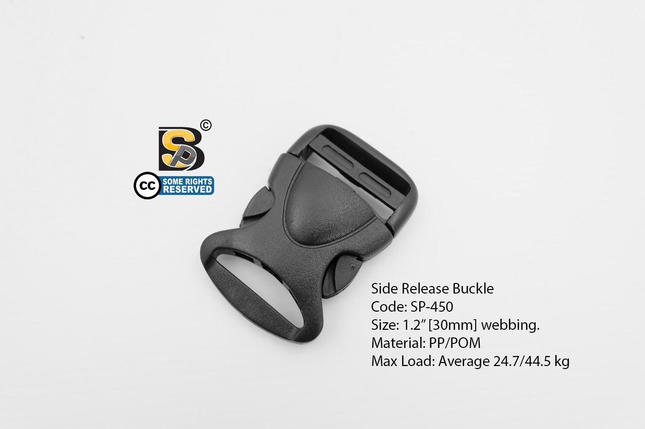 """ก้ามปู 1.2"""" เต่า (แข็ง) / Side Release Buckle 1.2"""""""