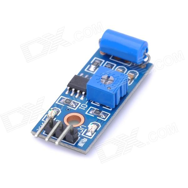 SW-420 Vibration Alarm Sensor Module for Arduino (Works with Official Arduino Boards)