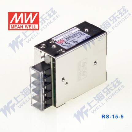 Switching Power Supply 15W 5V 3A (MEAN WELL RS-15-5)