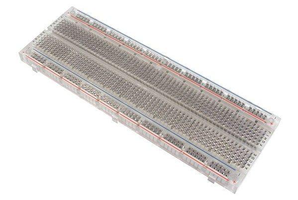 Transparent Breadboard (830 holes) แบบใส