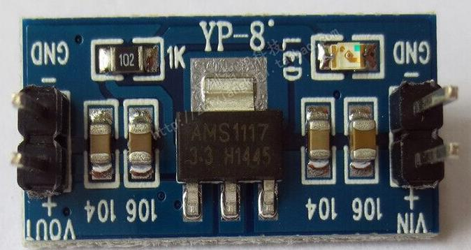 AMS1117 3.3V Power Supply Module (Voltage Regulator 3.3 V)
