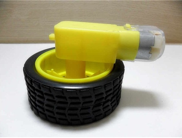 Gear Motor with Tire