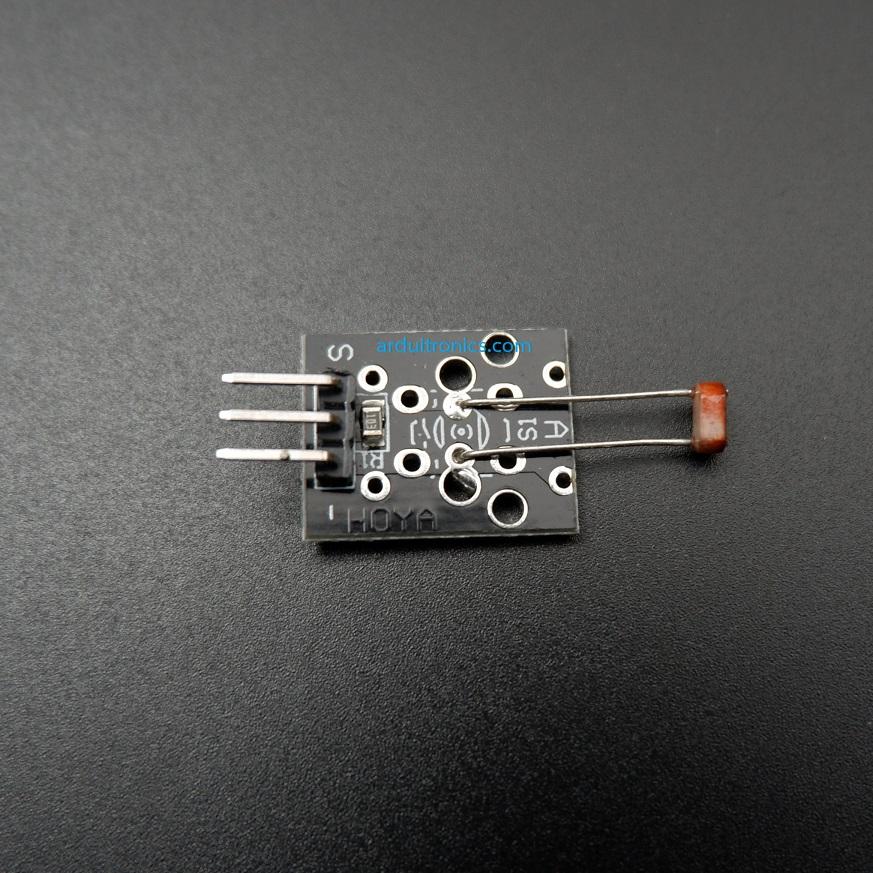LDR Photoresistor Module for Arduino (KY-018) - เซ็นเซอร์แสง