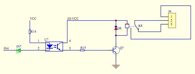 Schematic relay