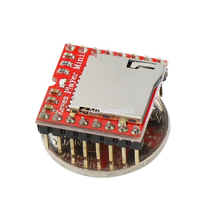 Mini MP3 Player Module for Arduino Red PCB