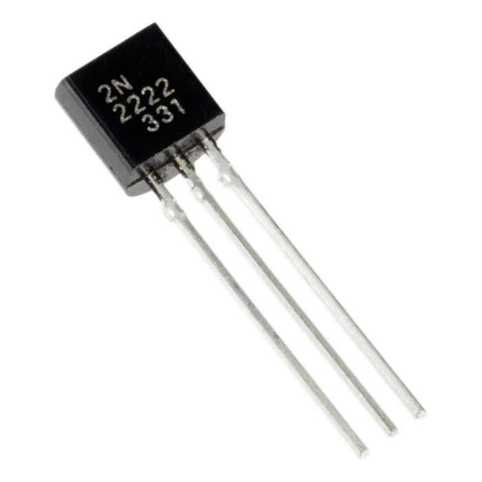 2N2222 Transistor (Pack ละ 5 ตัว) NPN 40V 0.8A Transistor TO-92
