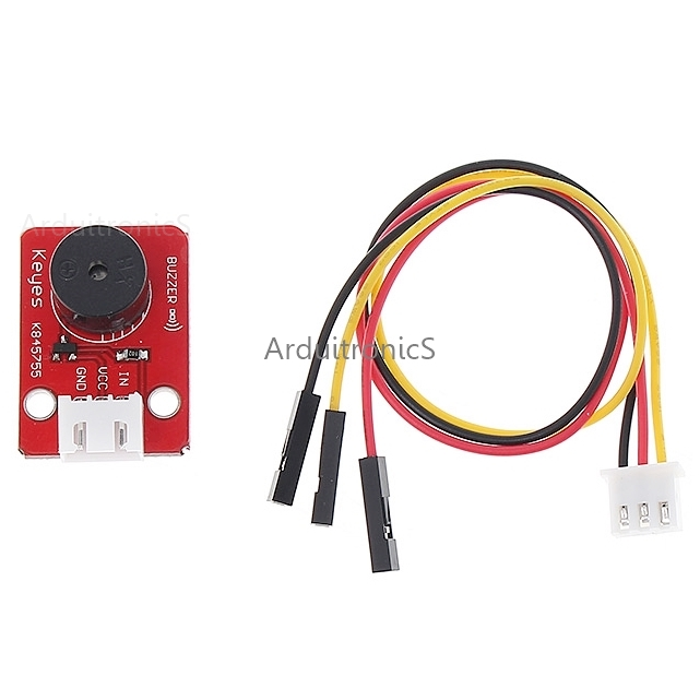 KEYES 3-pin Passive Buzzer Sound Module for Arduino + Free Cable