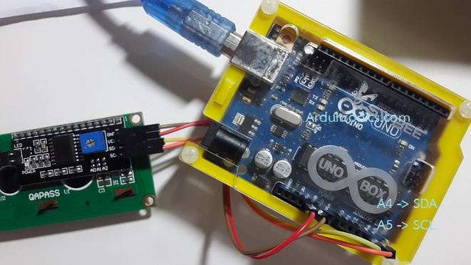 การใช้งาน I2C LCD - Arduino, ขาย Arduino, Arduino, Arduino Uno