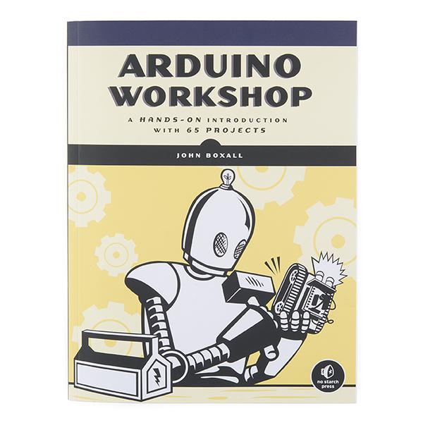 หนังสือ Arduino Workshop (370 หน้า) 65 Projects
