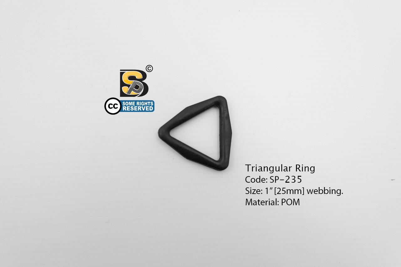 """สามเหลี่ยม 1"""" / Tri-Ring 1"""" (แข็ง)"""