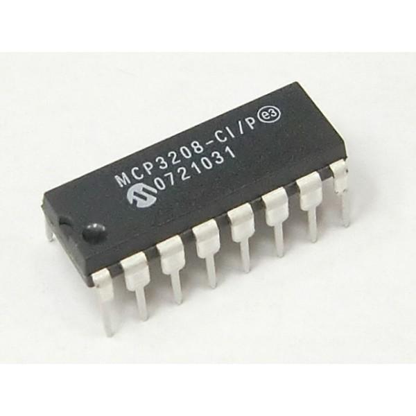 MCP3208-CI DIP16 (ADC)