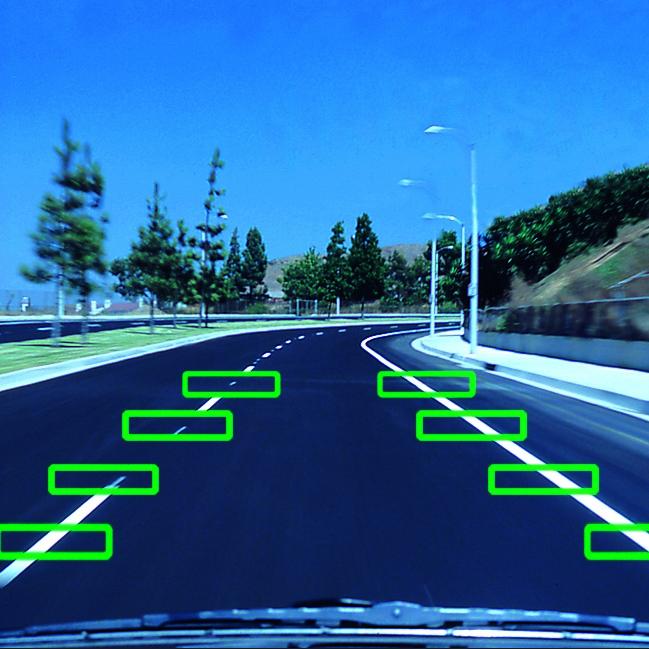 ระบบเตือนขับรถออกนอกเลนของกล้องติดรถยนต์