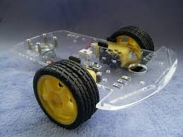 2WD Arduino Smart Car Chassis (Transparent)