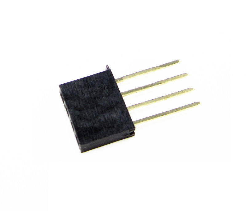 1X4 Pin 11mm Long Single Row Female Header 2.54mm Pitch Straight
