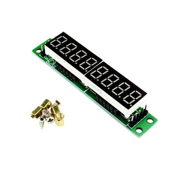 7 Segment 8-Digit with MAX7219 Module (Green PCB)