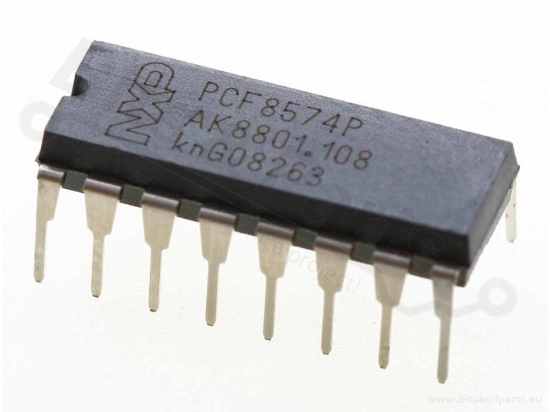 PCF8574AP NXP - Remote 8-bit I/O Expander for I²C‑Bus with Interrupt