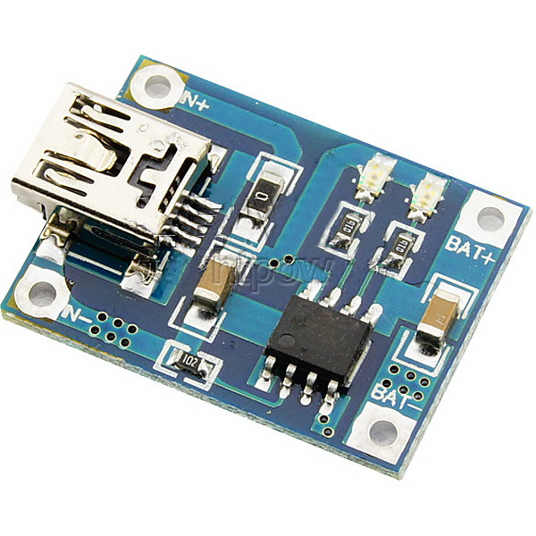 TP4056 1A Mini USB Battery Charger Board
