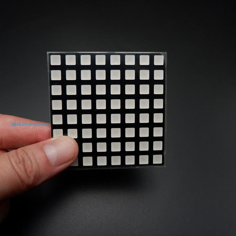 LED Square 5mm Matrix 8x8 Full Color RGB ขนาด 60mm x 60mm (Common Anode)