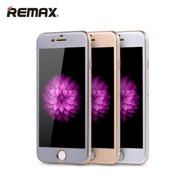 ฟิล์มกระจก iPhone 6 Remax Metal+Glass ราคา 160 บาท ปกติ 400 บาท