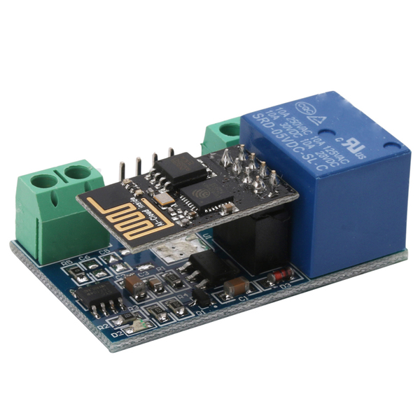 5V 1 Channel Relay with WiFi Module (ESP8266) for Smart Home