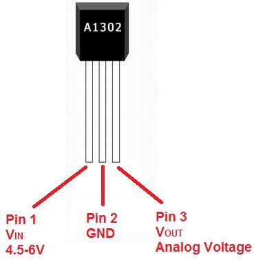 A1302 Hall Effect Sensor