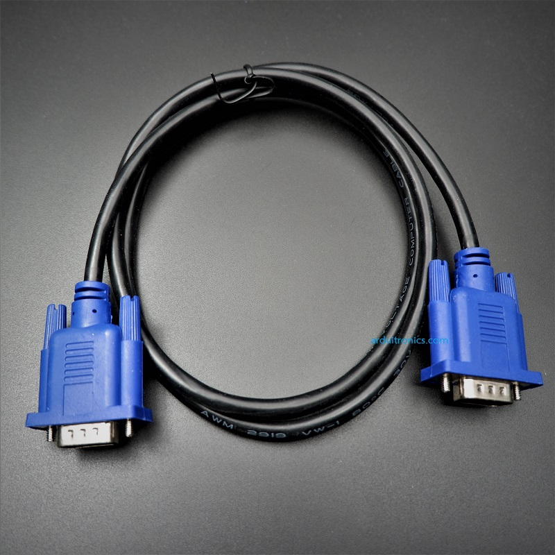 VGA to VGA Cable (male 15P to male 15P) ยาว 1 เมตร