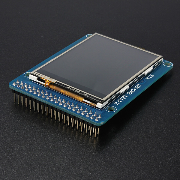 "2.4"" TFT LCD Module Display + Touch Panel Screen"