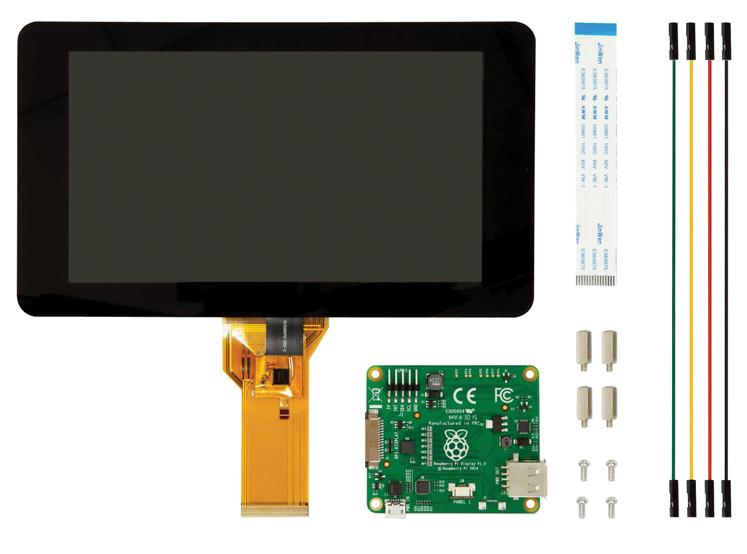 Raspberry Pi 7 inch LCD Touchscreen - Official RS Component