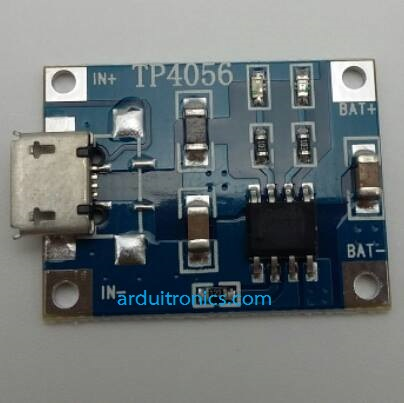 TP4056 1A Micro USB Battery Charger Board
