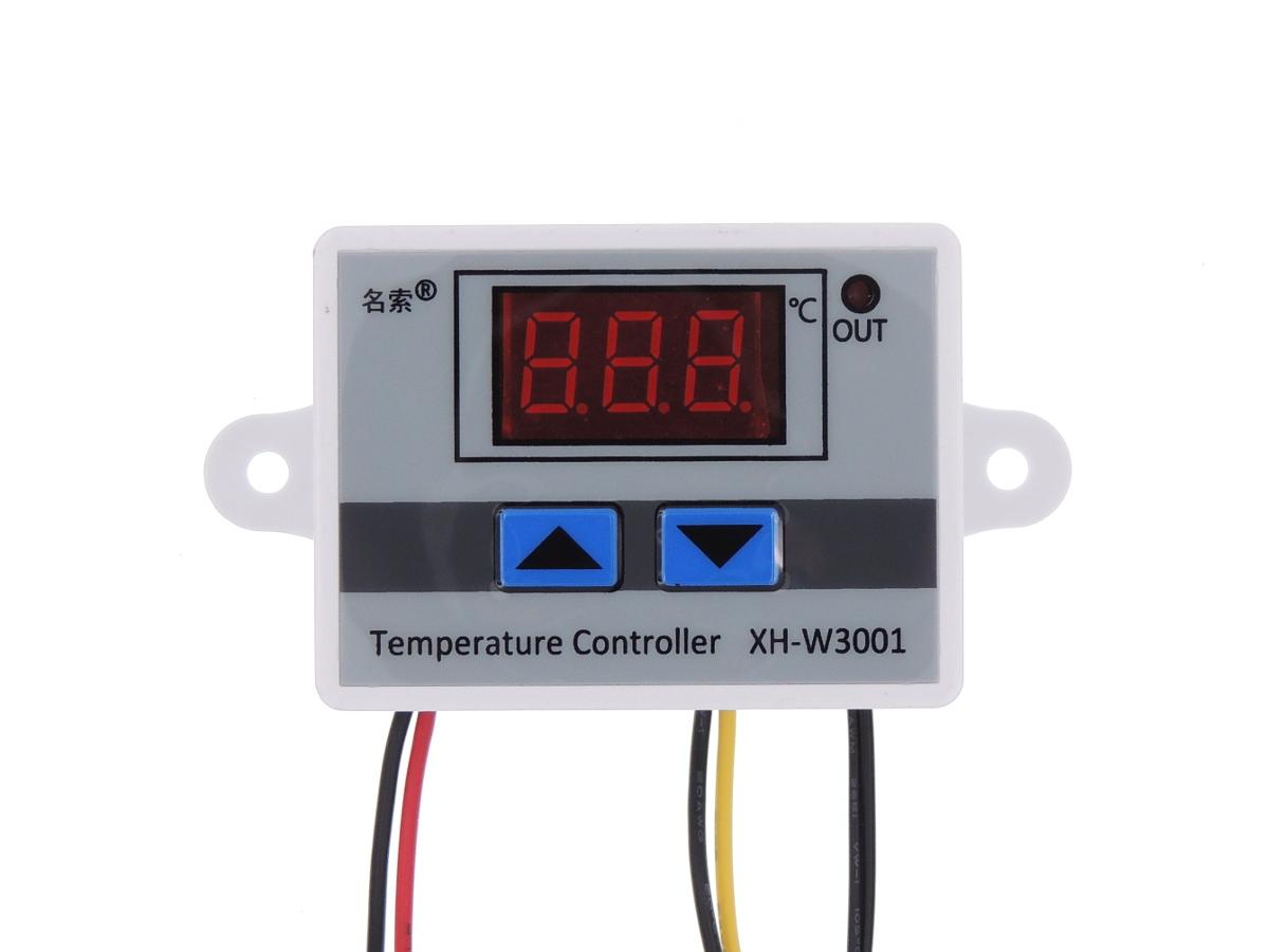 Digital Temperature Controller Thermostat Switch Probe 12V 120W (XH-W3001)