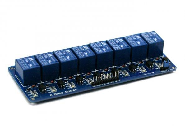 8 Channel Relay 5V 10A (Optocoupler) รีเลย์ 8 ช่อง (SONGLE รุ่น SRD-05VDC-SL-C)