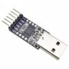 USB 2.0 to TTL (CP2102) UART 6-Pin Module Serial Converter - Black PCB