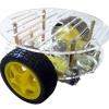 2WD Smart Car Chassis - แบบ 2 ชั้น มาพร้อม Motor และ Wheel Encoder
