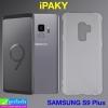 เคส ซิลิโคนใส IPAKY samsung S9 plus ราคา 79 บาท ปกติ 250 บาท