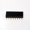 1X8 Pin Single Row Female Header 2.54mm Pitch Straight (จำนวน 1 ชิ้น)