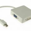 3 in 1 Mini-Displayport to HDMI / DVI / VGA Adapter