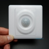 แผงตรวจวัดแสงและการเคลื่อนไหวสำหรับเปิดปิดหลอดไฟ (Wall Plate PIR Sensor Light Control Switch)