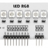 5050 RGB Full Color RGB 8 LED Module for Arduino