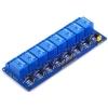 8 Channel Relay 5V 10A (Optocoupler) รีเลย์ 8 ช่อง (คละยี่ห้อของหัวรีเลย์)
