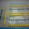 Resistor Pack 1% ขนาด 1/4W 600 ชิ้น 30 ค่า ค่าละ 20ชิ้น