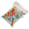 3mm LED Pack (white, red, green, blue, yellow) 20 each
