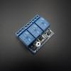 3 Channel Relay Module 5V 10A (หัวรีเลย์ยี่ห้อ Songle รุ่น SRD-05VDC-SL-C)