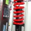 (CBR 150)โช้คอัพหลังเดี่ยว YSS รุ่น DTG (ไฮบริด) สำหรับ Honda CBR 150 สี ดำ/แดง