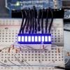 Blue 10 Segment LED Bar Graph (สีน้ำเงิน)