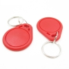 RFID 13.56 MHz Token Key Tags (Key Fob สีแดง) - Read/Write