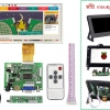 7 inch HD Desktop Display for Raspberry Pi + กรอบและฐานตั้ง (Version 3)