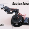 6-DOF Robot Arm Clamp Claw Education Kit with Special Turntable Base